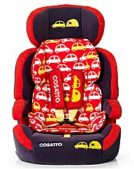 Cosatto Zoomi Group 123 Car Seat Vroom