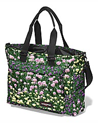 Eastpak Flay Shopping Bag Tulip Garden