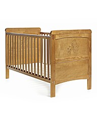 Disney WTP Deluxe Cot Bed - Country Pine