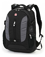 Wenger Black/Grey Laptop Backpack