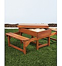 Kids Picnic Table & Sandpit