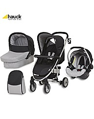 Hauck Malibu All in One Pushchair Silver