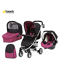 Hauck Malibu All in One Pushchair Berry