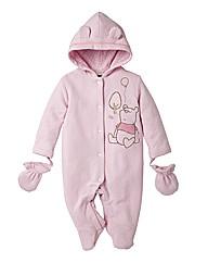 Winnie The Pooh Padded Snowsuit - Pink