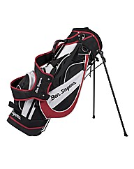 Ben Sayers Stand Bag Black/Red
