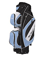 Ben Sayers Cart Bag Black/Sky Blue