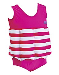 Zoggs Learn To Swim Float Suit Pink