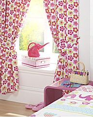 Nellie Lined Curtains & Tie Backs