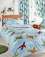 Aeroplane Duvet Cover Set