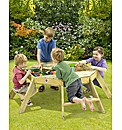 Plum Premium Octagonal Activity Table