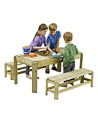 Plum Premium Activity Table And Bench