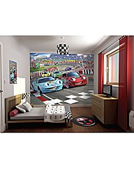 Car Racers Wallpaper Mural