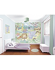 Baby Jungle Safari Wallpaper Mural