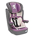 Tiny Tatty Teddy Group 123 Car Seat Pink