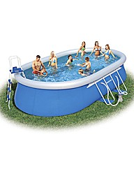 Bestway 18 Foot Oval Fast Set Pool