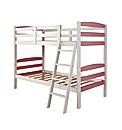 Harlow Girls Solid Wood Bunk Bed & Matt