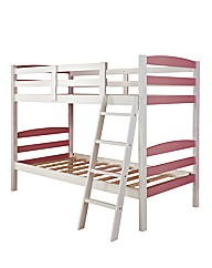 Harlow Girls Solid Wood Bunk Bed