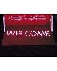 Welcome Doormat With 84 LED Lights