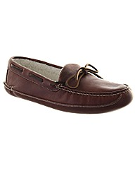 Chatham Marine Moccasin Wool Slipper