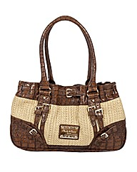 Claudia Canova Roc Duffel Shoulder Bag