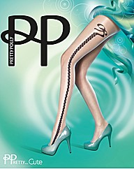 Pretty Polly Pretty Cute Bow Tights