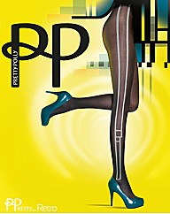 Pretty Polly Pretty Stylish Panel Tights