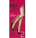 Pretty Polly Curves Knee Highs Pk4