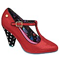 Babycham Aquarius court shoe