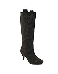 Marta Jonsson brown suede knee boot