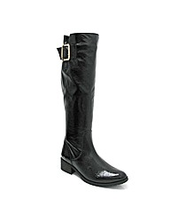 Marta Jonsson patent leather knee boot