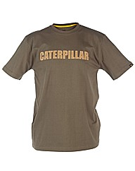 Caterpillar Canvas Textured Tee