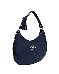 Marta Jonsson navy leather bag
