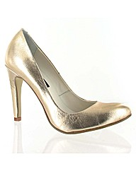 Marta Jonsson gold leather court
