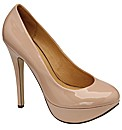 Ravel Halo           Nude Patent Leather