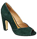 Ravel Kim peep toe court