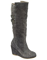 Ravel Kassie suede wedge knee boot