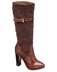 Ravel Kirk knee high heeled boot