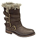 Ravel Keanu fur lined strappy boot