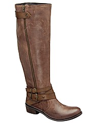 Ravel Kyle    high leg strap boot