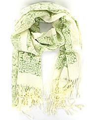 Ornate Print Pashmena