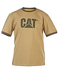 Caterpillar Trademark Ringer Tee