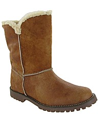 Riva Lizard Ladies Mid Calf Boot