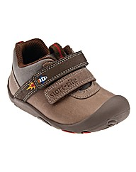 Start-rite Flying Start Brown Fit F Shoe