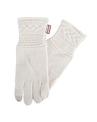 Hunter Moss Cable Gloves