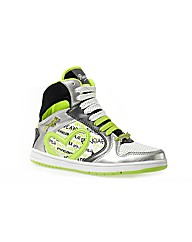 Pineapple Geo Hi-Top Trainer