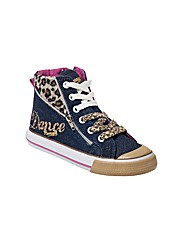 Pineapple Meow Canvas Lace up Boot