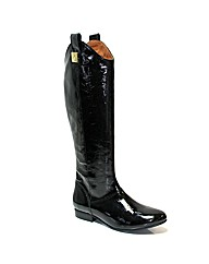 Marta Jonsson black patent leather boot