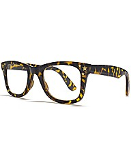 VivaLaDiva Star Wayfarer Reading Glasses