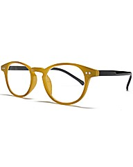 VivaLaDiva Keyhole Round Reading Glasses