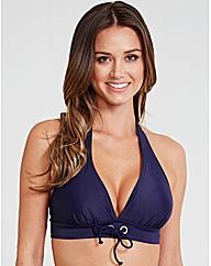 Santa Cruz Eyelet Soft Halter Bikini Top
